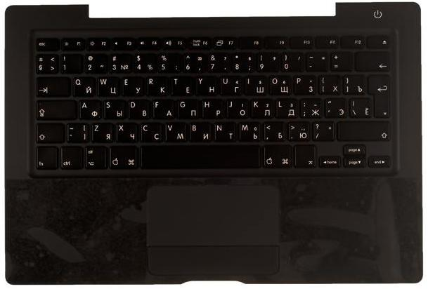 Верхняя часть корпуса для Apple MacBook A1181 Black c клавиатурой
