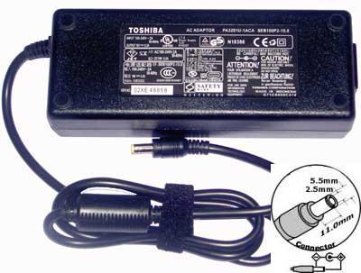 Блок питания для ноутбука Toshiba 19V 6,3A 120W