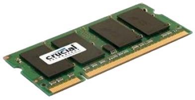Оперативная память SO-DIMM DDR2 2GB PC2-6400 800MHz Micron (Crucial) CT25664AC800