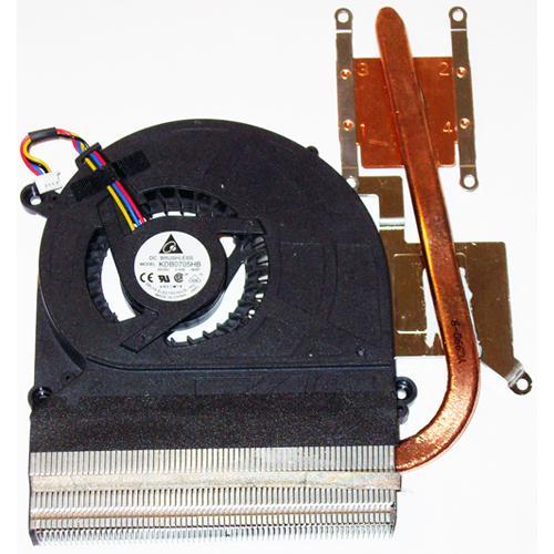 Система охлаждения (кулер) для ноутбука Asus K40IN