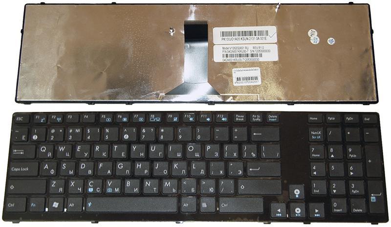 Клавиатура для ноутбука Asus K93/K95 (388mm ISO)