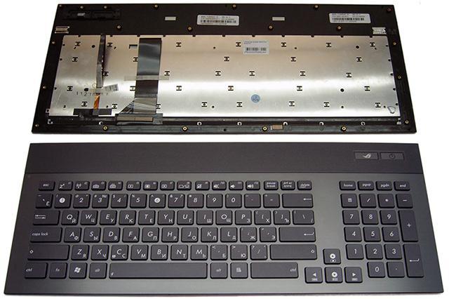 Клавиатура (Keyboard) для ноутбука Asus G74SX 417mm BACKLIGHT