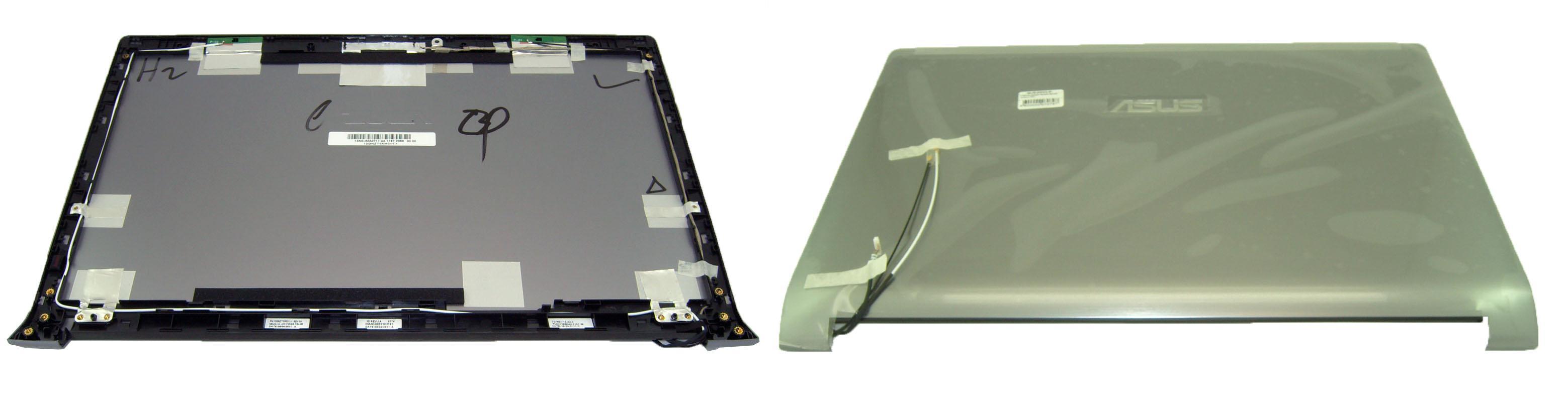 Верхняя крышка матрицы для ноутбука Asus N53J N53JN