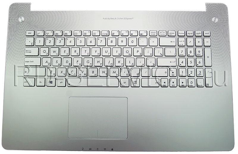 Клавиатура для ноутубка Asus N750JV с верхней панелью (RU)