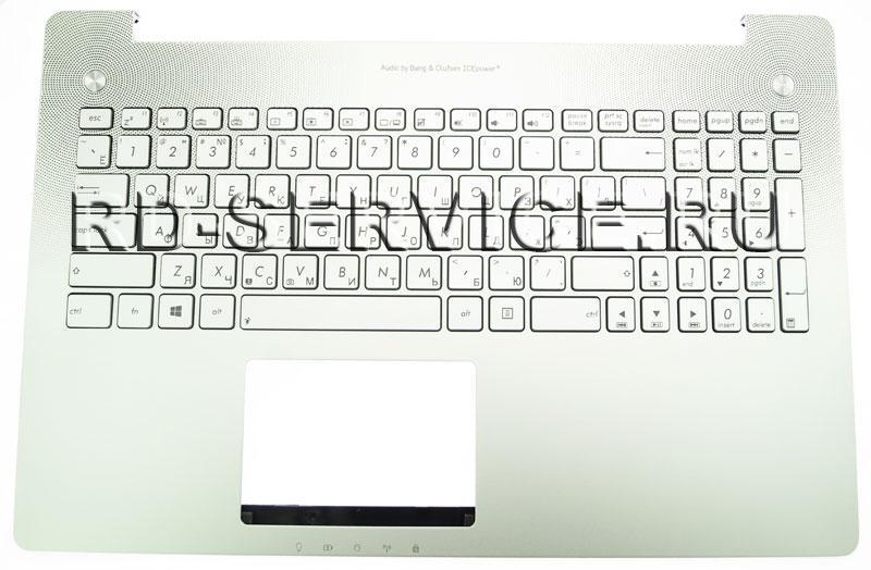 Клавиатура для ноутубка Asus N550JV с верхней панелью (RU)
