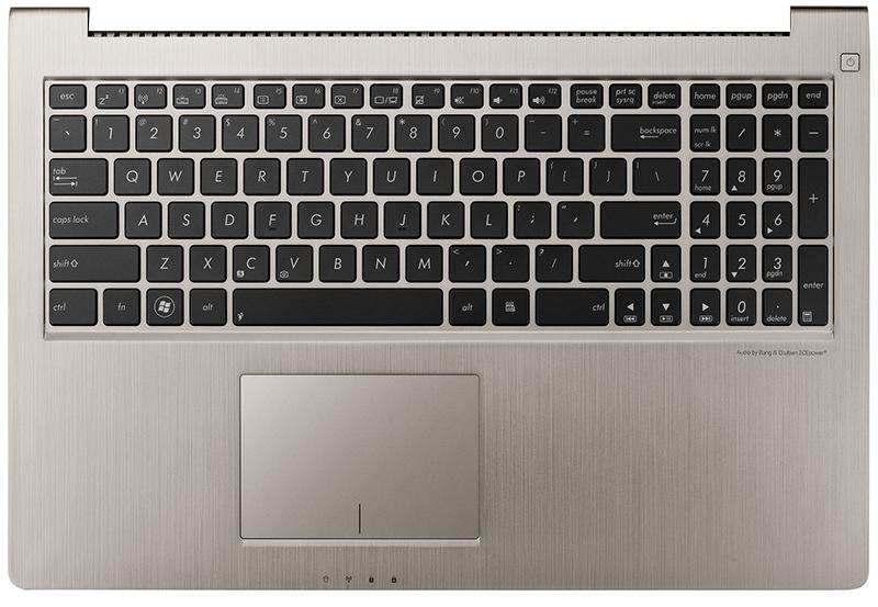Клавиатура для ноутубка Asus UX51VZ  с верхней панелью (RU)