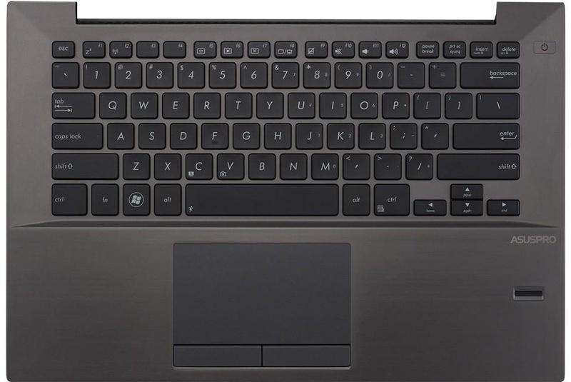 Клавиатура для ноутубка Asus B400VC с верхней панелью (RU)