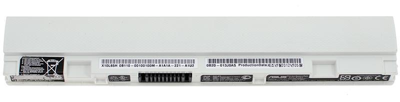 Аккумуляторная батарея для ноутбука ASUS A31-X101 X101 10.8 2200mAh, 23Wh Белая