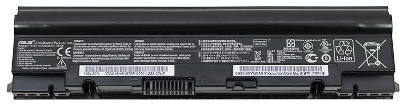 Аккумуляторная батарея для ноутбука ASUS A32-1025 1025,1225 10.8V 5200mAh, 56Wh Черная