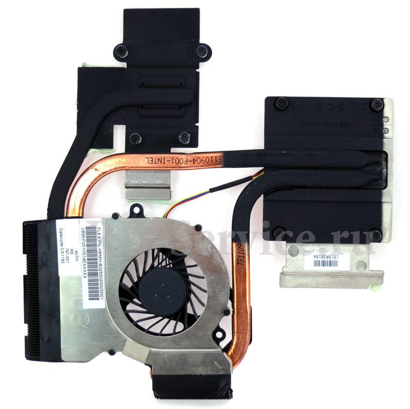 Система охлаждения для ноутбука HP DV6 / G6 series