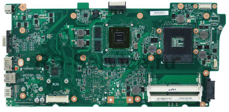 Материнская плата для ноутбука Asus N73JN