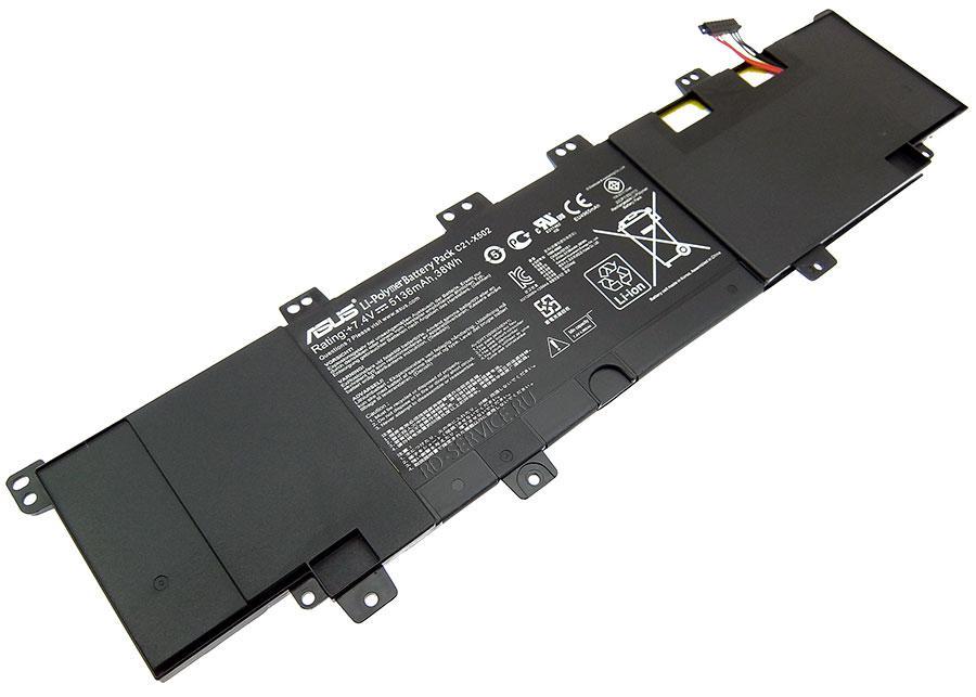 Аккумуляторная батарея для ноутбука  Asus VivoBook X502 C21-X502 7,4v 5136mAh, 38Wh