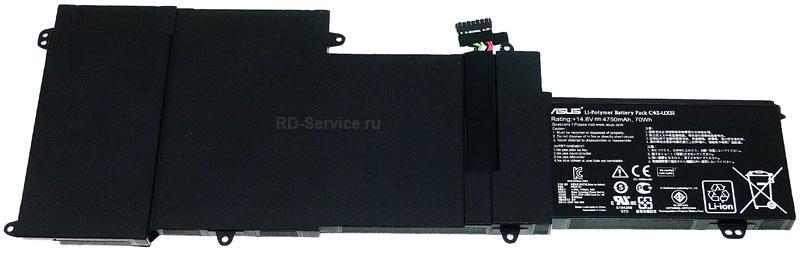 Аккумуляторная батарея для ноутбука  Asus U500VZ (UX51VZ) Zenbook C42-UX51 14,8v 4750mAh 70wh