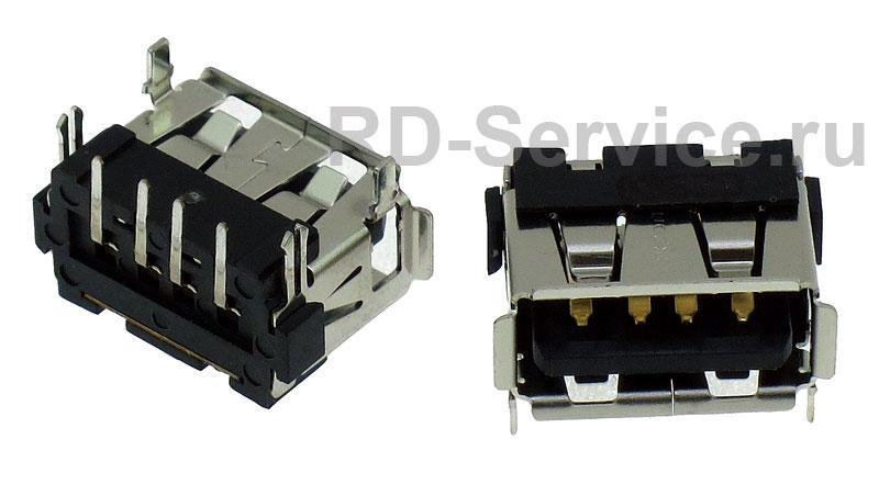Разъем USB для ноутбуков Lenovo C467A C466A F41 G450 Y430 V450 G530, TCL, HP, 10x14.5x7mm