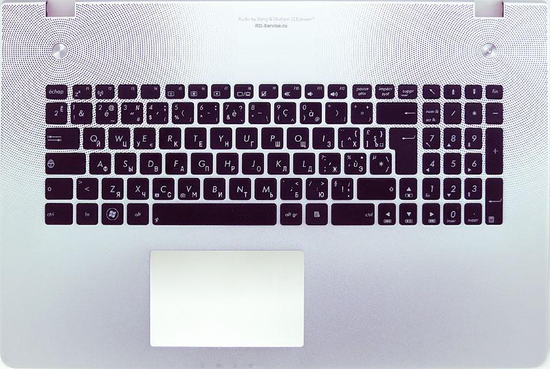 Клавиатура для ноутбука Asus N76VM