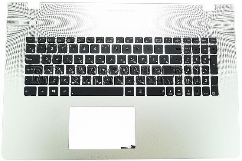 Клавиатура для ноутбука Asus N76VZ с подсветкой