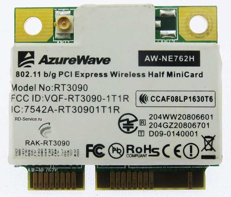 WiFi модуль для ноутбука  AW-NE762H