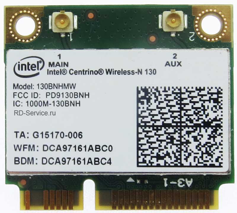 WiFi модуль для ноутбука  Intel 130MNHMW