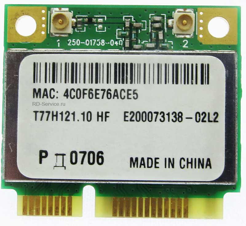 WiFi модуль для ноутбука  Aheros AR5B95