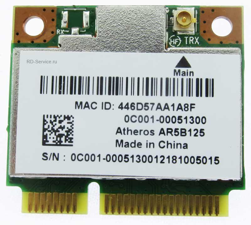 WiFi модуль для ноутбука  Aheros AR5B125