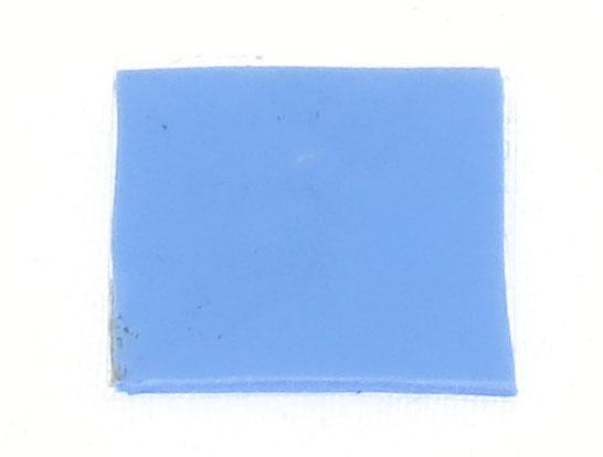 Термопрокладка силиконовая 15х15х0,5мм 1шт