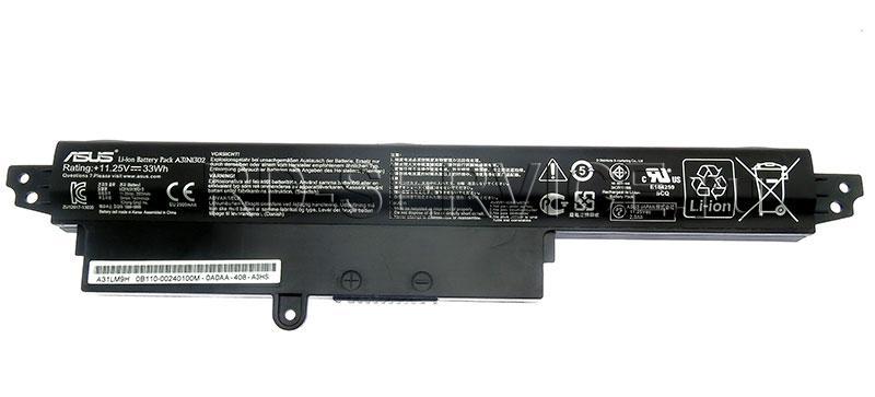 Аккумуляторная батарея для ноутбука  Asus A31N1302 11,25V 33Wh