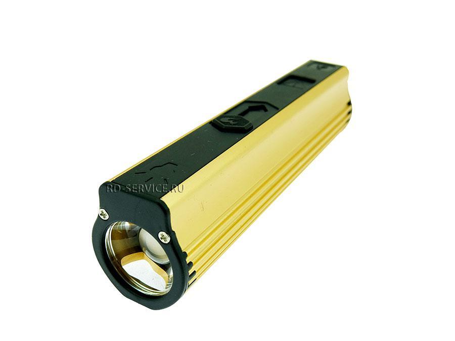 Внешний аккумулятор - Power Bank 2600mAh с фонариком и прикуривателем