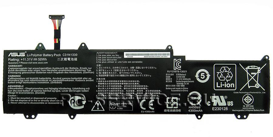 Аккумуляторная батарея C31N1330 для ноутбука Asus UX32L UX32LA UX32LN Zenbook