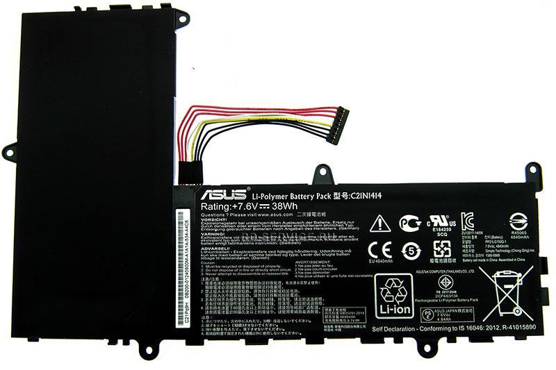 Аккумуляторная батарея C21N1414 для ноутбука Asus X205T