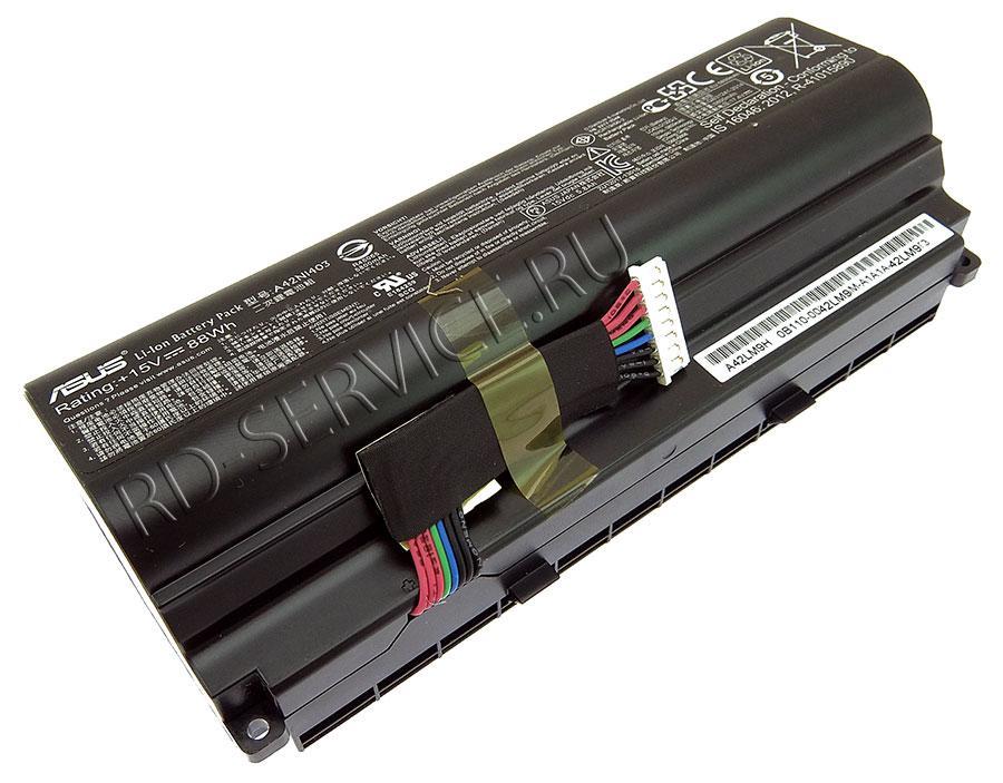Аккумуляторная батарея A42N1403 для ноутбука Asus 15v 5800mAh, 88Wh