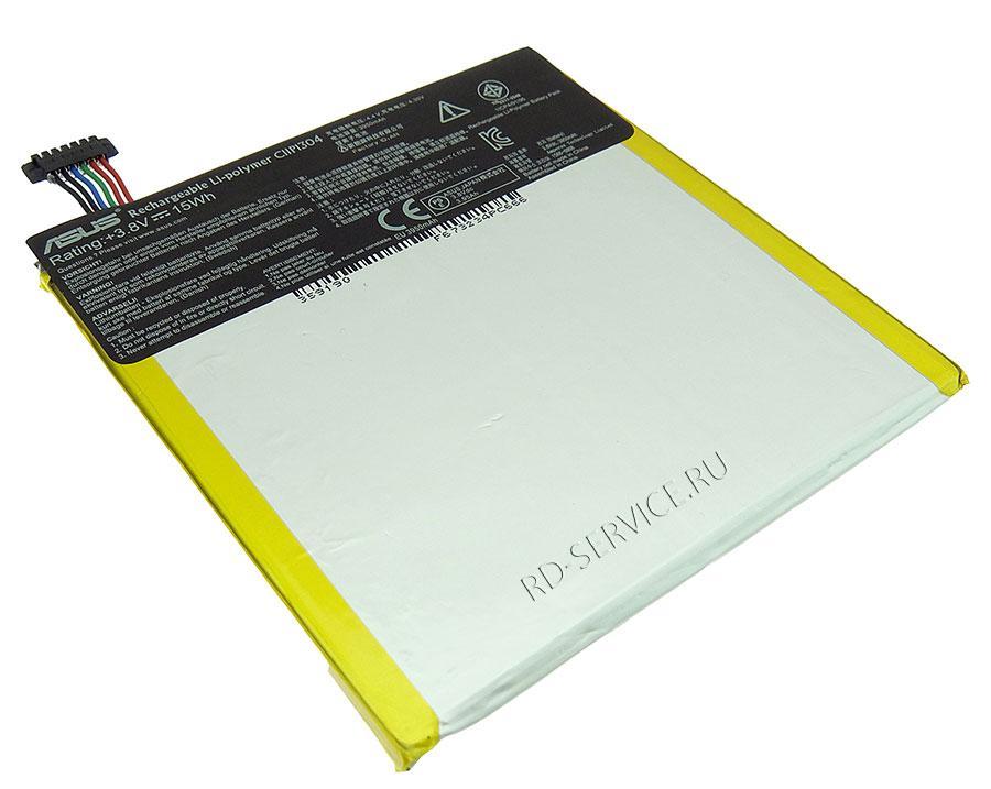 Аккумуляторная батарея C11P1304 для ноутбука  ASUS MEMO PAD HD 7 ME173X K00B HD7 ME173 TAB 3,8v 3950mAh, 15Wh