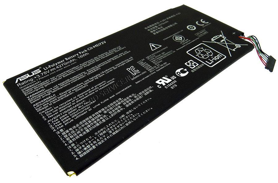 Аккумуляторная батарея для ноутбука  Asus Memo Pad ME172V C11-ME172V  3,75v 4270mAh, 16Wh