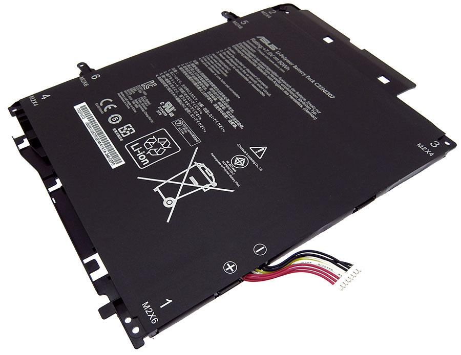 Аккумуляторная батарея C22N1307 для ноутбука  Asus Transformer Book T300LA 7,6v 6510mAh, 50Wh