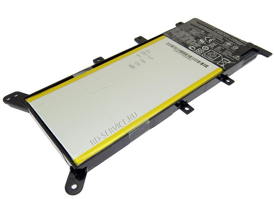 Аккумуляторная батарея C21N1347 для ноутбука  ASUS X555 7,6v 4775mAh, 37Wh