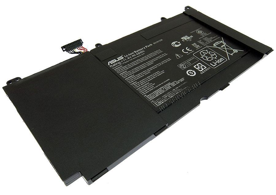 Аккумуляторная батарея B31N1336 для ноутбука Asus V551LB 11,4v 4110mAh, 48Wh