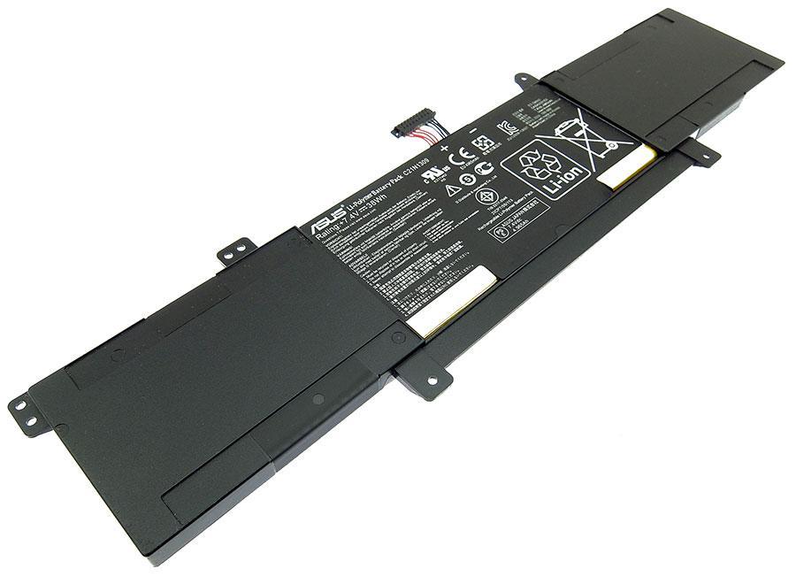 Аккумуляторная батарея C21N1309 для ноутбука  Asus Asus Vivobook S301LA, S301LP 7,4v 4965mAh, 38Wh