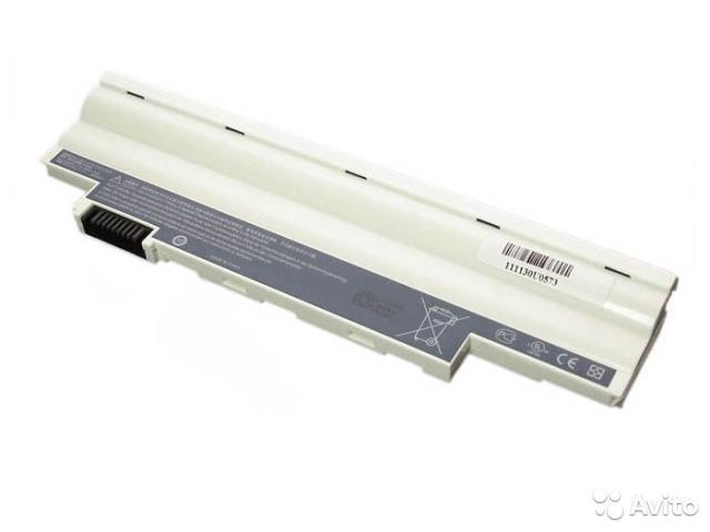 Аккумулятор для ноутбука Acer Aspire One D255, D260 белый расширенный