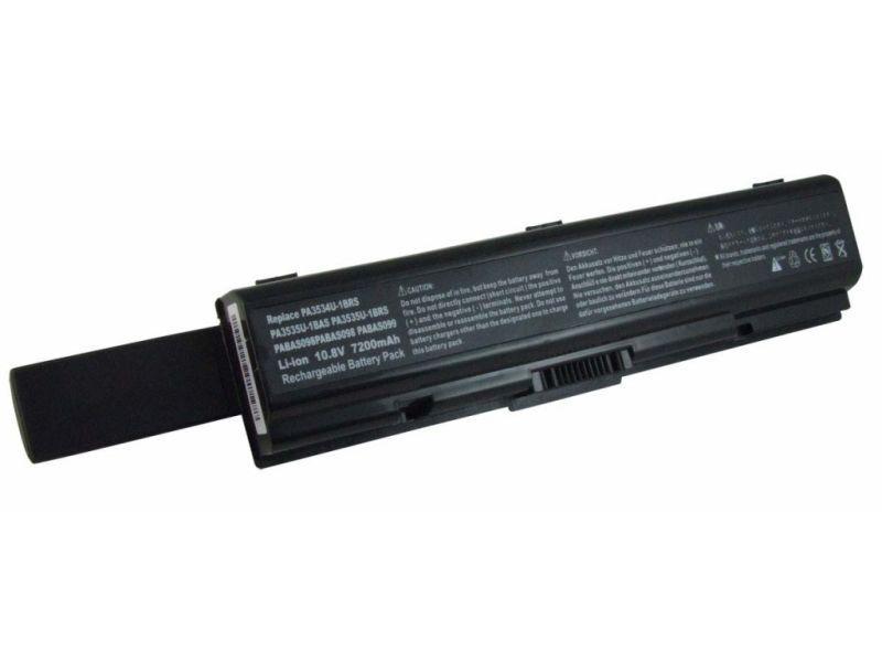 Аккумулятор для ноутбука Toshiba A200, A300, L300 расширенный