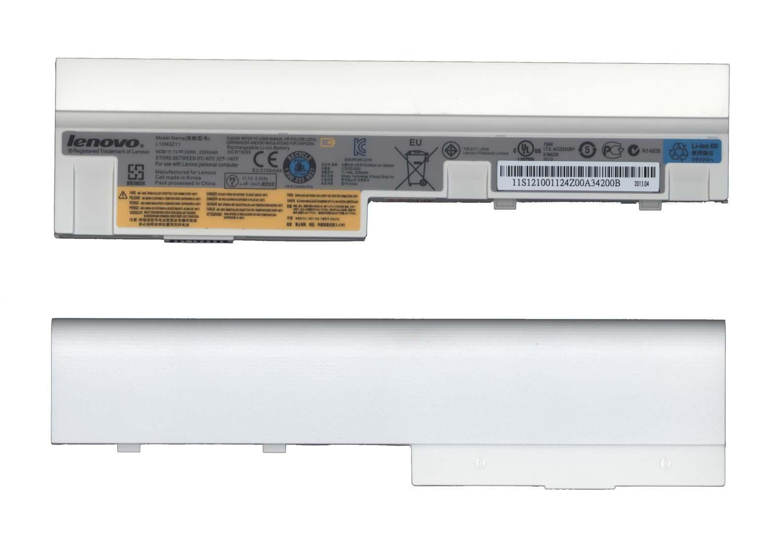 Аккумулятор для ноутбука IBM-Lenovo S10-3, S100, U160 белый