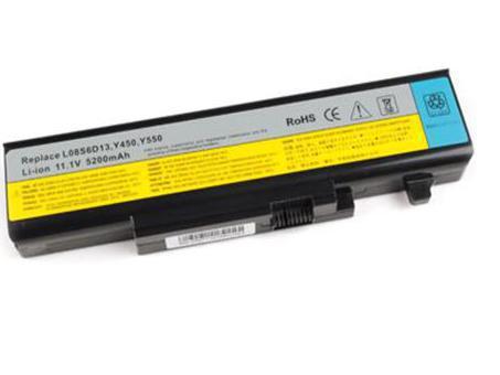 Аккумулятор для ноутбука IBM-Lenovo IdeaPad Y450, Y550