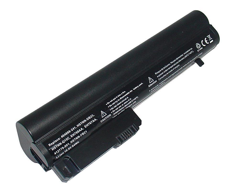 Аккумулятор для ноутбука HP 2510p, 2530p, 2540p расширенный