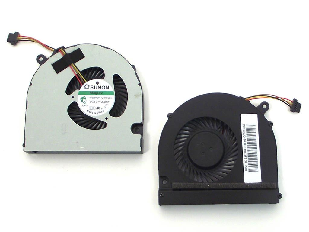 Вентилятор для ноутбука Acer R7-571, R7-571G, R7-572