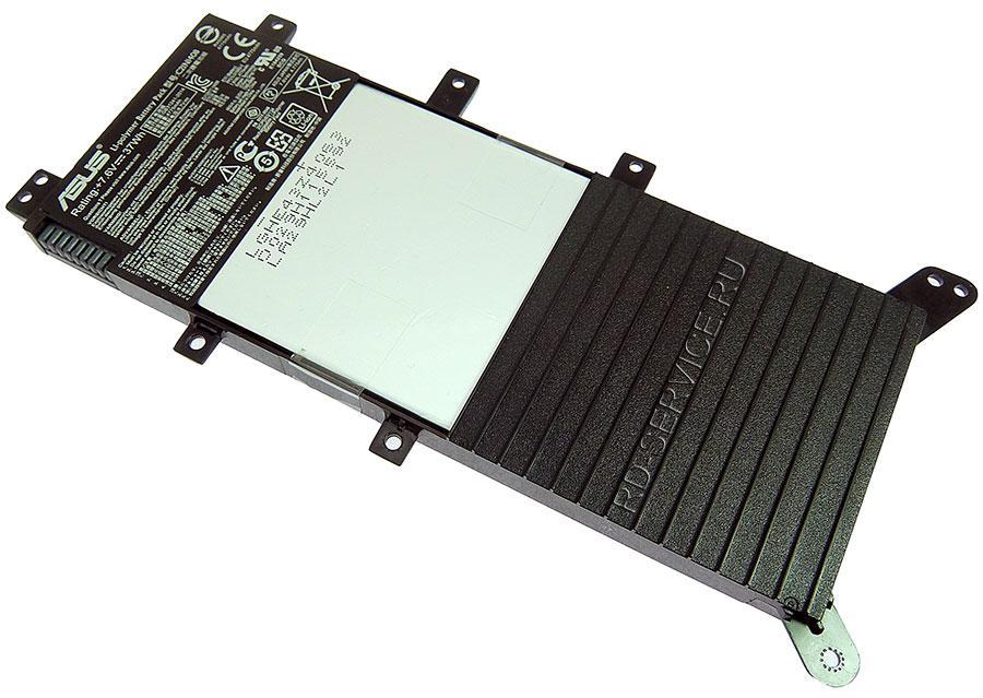 Аккумуляторная батарея C21N1408 для ноутбука  Asus X555 серии 7,6v 4775mAh, 37W