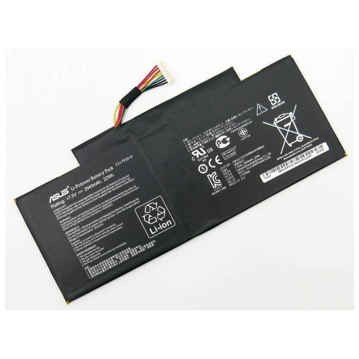 Аккумуляторная батарея C21-TF201X для ноутбука  ASUS Transformer Pad TF300T 7,5v 2940mAh, 22Wh
