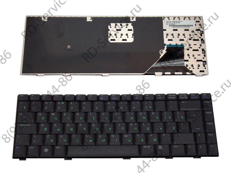 Клавиатура (KEYBOARD) для ноутбука Asus A8/W3/Z99/F8/X80