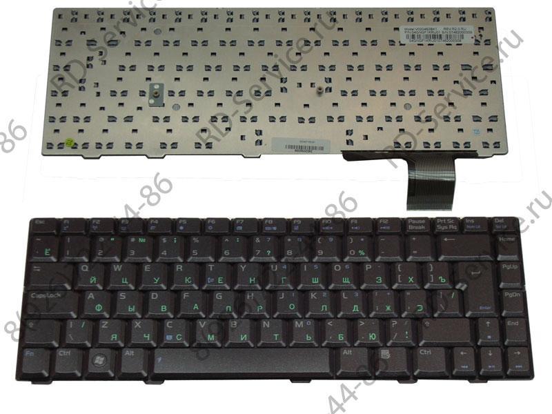 Клавиатура (KEYBOARD) для ноутбука Asus V1/VX2