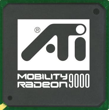 Видеочип ATI Radeon Mobility 9000