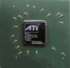 Видеочип ATI X1300 M52-P