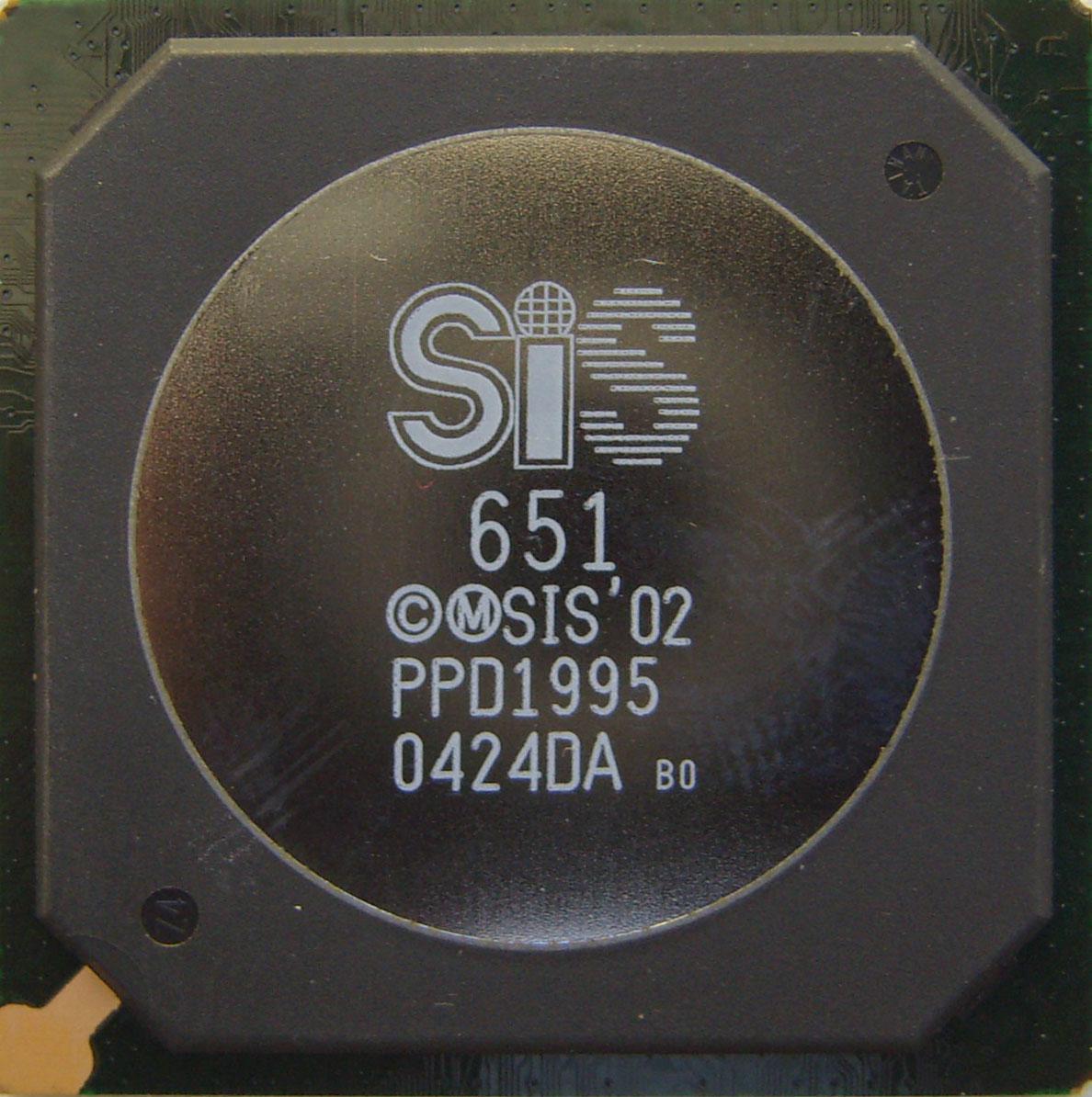 Микросхема SiS 651