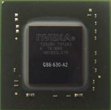 Микросхема NVidia GeFORCE G86-630-A2